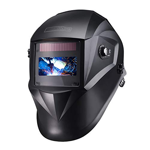LESOLEIL Electrical Auto Darkening Goggles Welder Glasses Gas Flip Up Lens Eye Protection Welding Helmet Solar Energy Automatic Grinding Mask