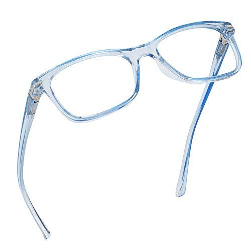 Readerest Blue Light Blocking Reading Glasses (Light Blue, 1.75 Magnification)