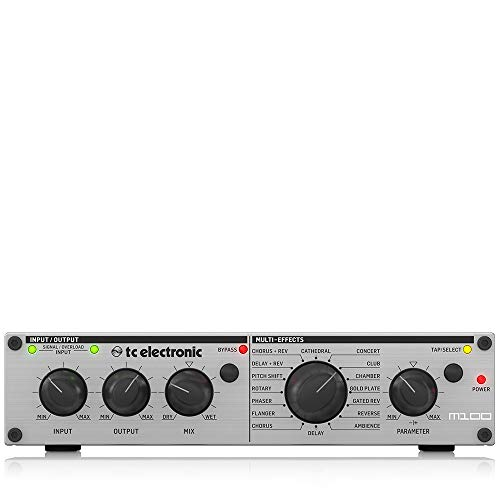 TC Electronic M100 Stereo Multi-Effects Processor with Legendary TC Reverbs...