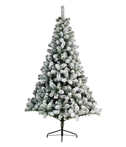 Kaemingk - Albero di Natale Snowy Imperial Pine 210 cm - Kaemingk-680952
