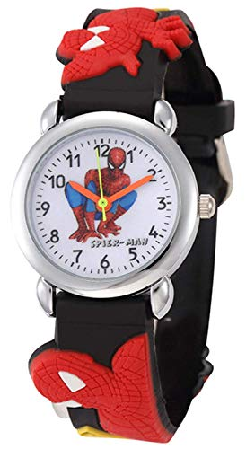 SWADESI STUFF Analogue Boys' & Girls' Watch (White Dial Black Colored Strap)