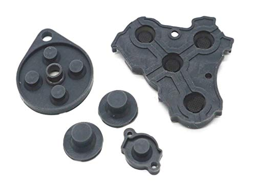 Replacement Silicone Rubber Pad Conductive Adhesive Right Button Keypad for Nintendo Gamecube NGC Controller