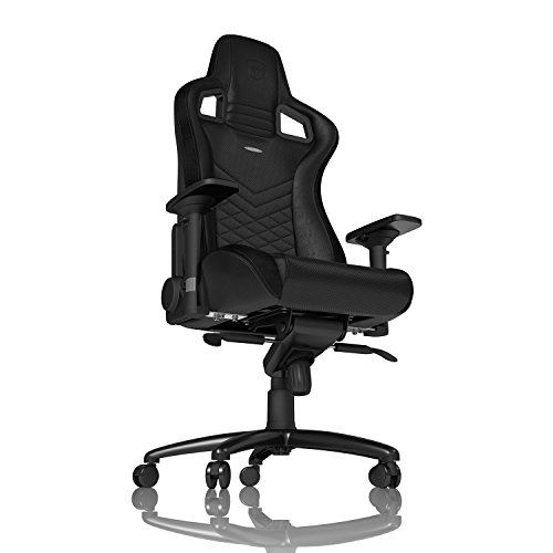 noblechairs Epic Gaming Chair - Office Chair - Desk Chair - PU Faux Leather - Black