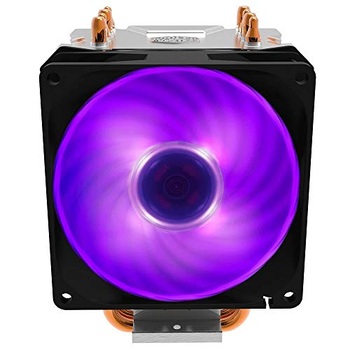 Cooler Master Hyper H410R RGB Sistema di Raffreddamento, 4 tubi di calore, dissipatore di calore compatto, installazione facile