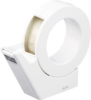 コクヨ テープカッター GLOO 吸盤 ハンディタイプ 大巻き 専用 白 T-GM500W
