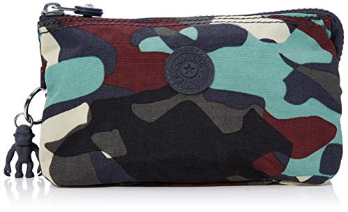 Kipling Creativity L, Portamonete Donna, Multicolore (Camo Large),...
