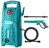 MR LIGHT TOTAL 1400-WATT High Pressure Washer 130Bar (1900PSI) with TSS Auto Shut Off and 100% Copper Wire Carbon Brush Motor
