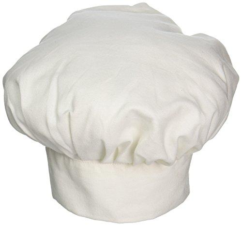 Mark Richards Tissu Enfant Chef Hat-White