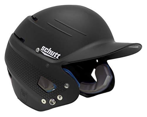 Schutt XR1 AiR MAXX Softball Batter's Helmet-One Size Fits, Matte Black,...
