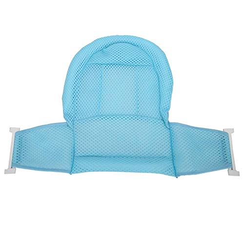 Malla de baño para bebés Malla de ducha ajustable para bañera transpirable Estera de cojín para baño de bebé recién nacido Neto para niños de 0 a 3 años