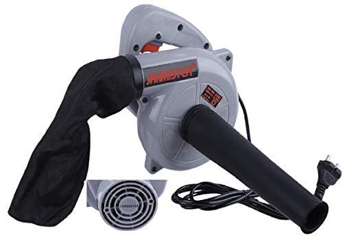 JAKMISTER 675 W, Unbreakable Plastic 16000RPM Electric Air Blower Dust PC Vacuum Cleaner (Standard Size, Grey)