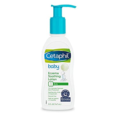 Cetaphil Baby Eczema Soothing Lotion, Colloidal Oatmeal, Paraben Free, Hypoallergenic, Dry Skin, 5 Fluid Ounce from Galderma Laboratories, Inc