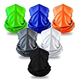 Elimoons Bandanas for Men&Women Breathable Cooling Neck Gaiters,Summer UV Protection Face Cover Outdoor Sport Reusable Face Shield Fishing Running Motorcycle