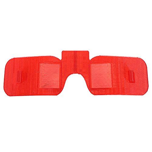 XCQ Sunshade Hood-Objektiv-Schutzplatte for Fatshark-Dominator-Brille langlebig 1121