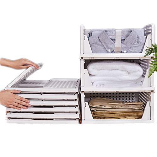 Stapelbarer Kleiderschrank Aufbewahrungsbox Organizer, Kleiderschrank Aufbewahrungsschrank, Ausziehbar Wie Eine Schublade, Geeignet FüR Zuhause, Schlafzimmer, KüChe,S