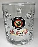 阪神タイガース マグカップ チームスローガン 2021 寄せ書き サイン プレゼント コンペ 景品 父の日 母の日 限定 記念 グッズ 人気 クリスマス (ビアマグカップ)