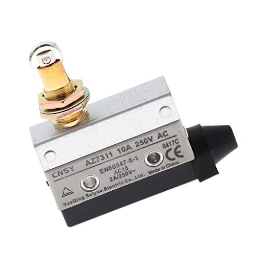YELLAYBY AZ7311 250V 10A SPDT momentáneo bisagra de rotación de la Palanca 3 Micro Pin Interruptores Socket Llave Hexagonal
