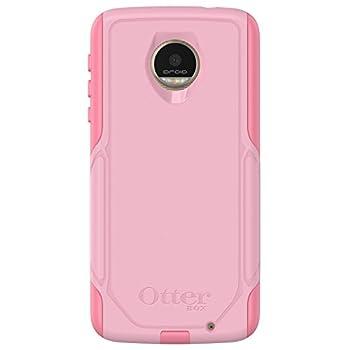 OtterBox Commuter Series Case for Motorola Moto Z Droid Edition  ONLY  - Retail Packaging - Bubblegum Way  Bubblegum Pink/Seashell Pink