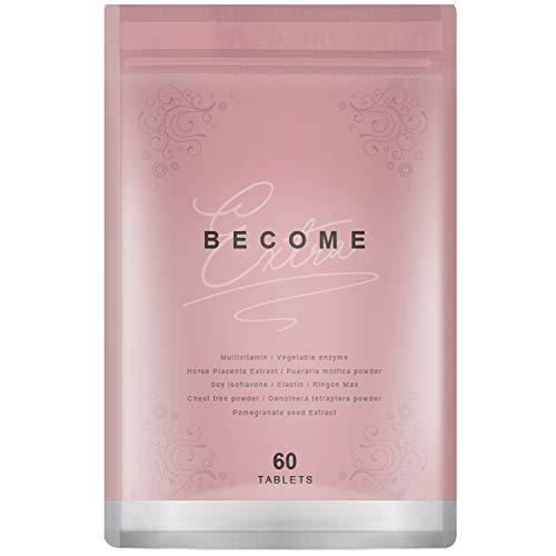 Become プラセンタ プエラリア ザクロ種子 大豆イソフラボン サプリメント 全9種類 30日分