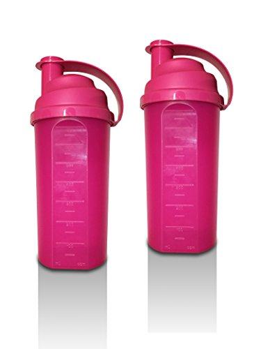 Buchsteiner MixMaster Shaker - 2 x 700 ml (2erPack) - Pink