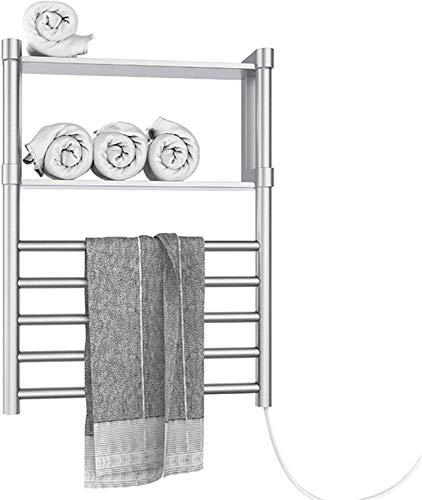 HJUYV-ERT Calentador de Toallas, Calentador de Toallas eléctrico 2020, toallero térmico montado...