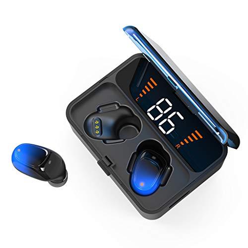 Zolimx Auriculares Inalambricos Auriculares Inalámbricos Intrauditivos Auriculares Estéreo Auriculares Deportivos con Micrófono Auriculares Bluetooth