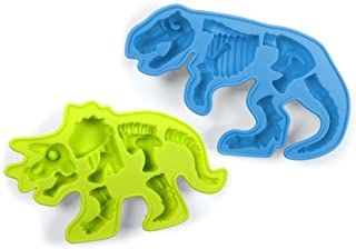 Best silicone dinosaur bones chocolate molds Reviews