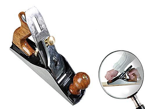 Handhobel Nr. 4 50x2mm Griff aus Rosenholz mit vorgeschliffenem Hobelmesser