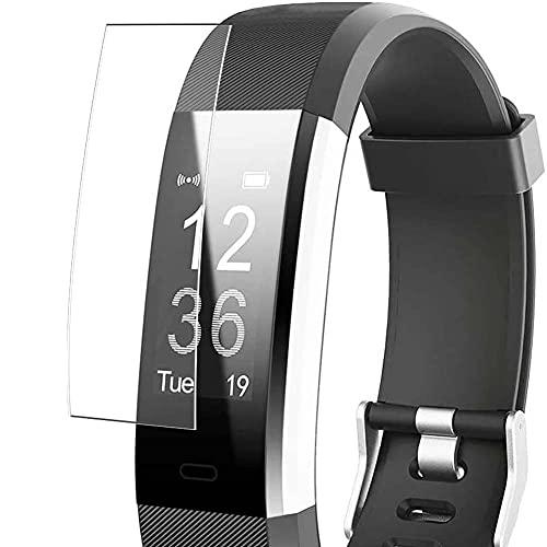 Vaxson 3 Stück Schutzfolie, kompatibel mit Willful YAMAY SW333 Fitness Tracker smartwatch, Displayschutzfolie TPU Folie [ nicht Panzerglas ]