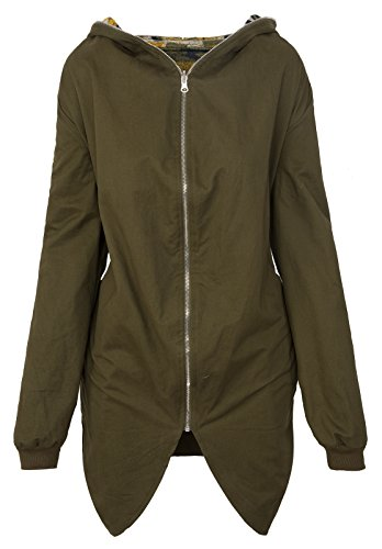 Rock Creek Selection -  Giacca  - Parka - Donna cachi Large