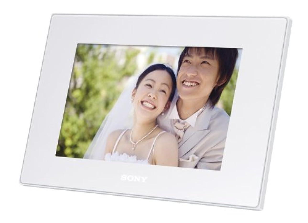 氷再び広範囲にソニー SONY  デジタルフォトフレーム D72N ホワイト DPF-D72N/W
