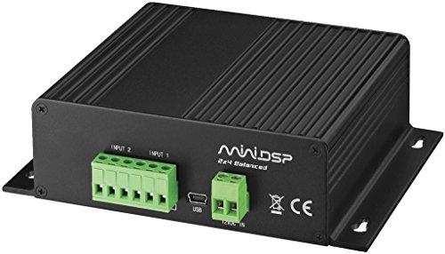 MONACOR MDSP-24BAL Digitaler Signalprozessor (DSP) schwarz