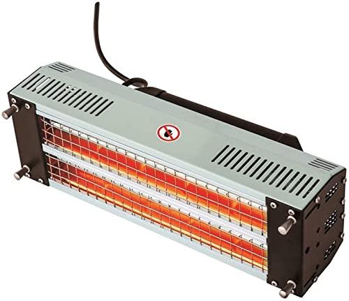 AACXRCR Pintura infrarroja de hornear lámpara de curado, secadora 22 0V 1000 / 2000W Secador de la lámpara de pintura del coche de la carrocería del coche del coche del automóvil de la onda corta (ama