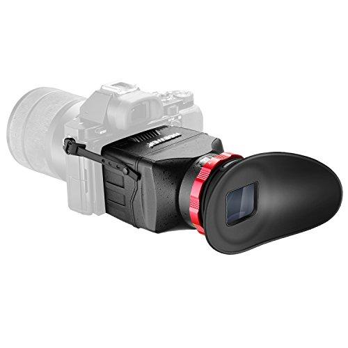 Neewer Pro Bildschirmschutzfolie, Sonnenschutzhülle mit 3-facher Vergrößerung für Sony A7RII/7II/7/7R/7M2/7R2/7M3/7R3/7s/7s2/7s3 und DSLR mit 3-Zoll-Bildschirm