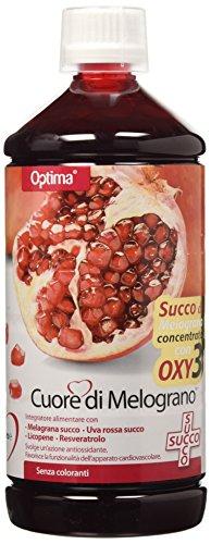 Optima Naturals IAF00060795 Cuore di Melograno, Succo com Oxy 3, 1000 ml