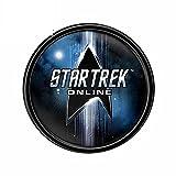 ZIWEI 13 cm x 12,8 cm para Star Trek Online Funny Jdm Car Pegatinas Moda Occlusión Scratch