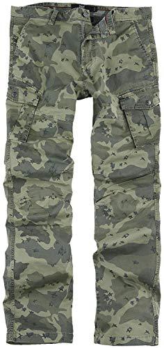 Black Premium by EMP Cargohose mit Camouflage-Muster Männer Cargohose Camouflage W32L34