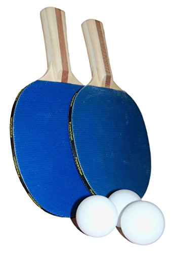 Powerthon Table Tennis Paddles - Set of 2 Recreational Table Tennis Paddles with...
