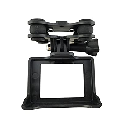 autumn-wind Camera Holder Quad copter Drone Helicopter With Gimble/Gimbal For MJX B3 For SYMA Quadcopter Drone Helicopter (black)