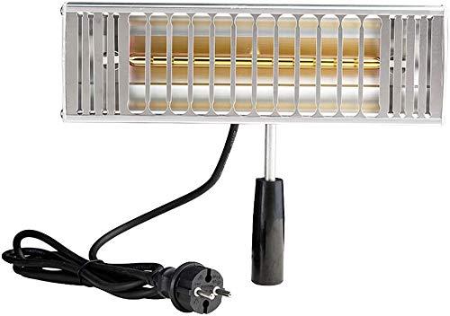 Fayeille Bakken Infrarood uithardingslamp, 1000 W, handcontrole kleur met korte golvende verwarming auto carrosserie reparatie kleur lamp droger vc13517a1 Zoals op de afbeelding.
