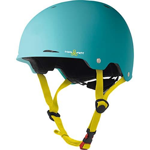 Triple Eight Gotham Dual Certified Skateboard and Bike Helmet, Baja Matte, Large/X-Large