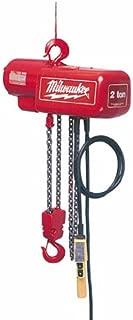 milwaukee electric chain hoist
