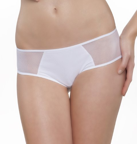Passionata Damen Hipster Miss Joy-Shorty, Weiß (Weiß 10), 36