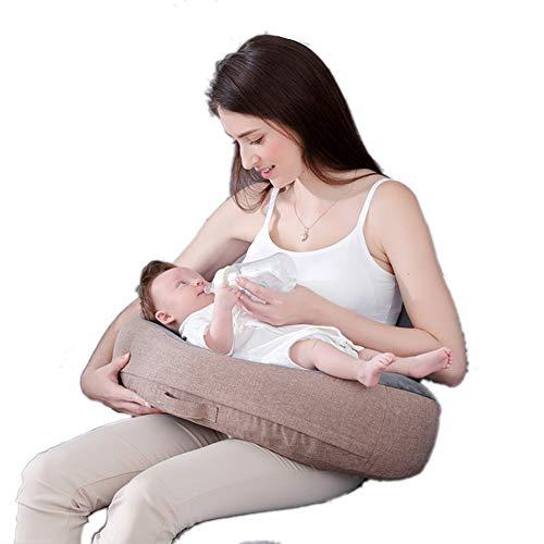 GOUO@ Tapis d'allaitement pour l'allaitement maternel Multi-fonctionnel pour femmes enceintes nourrissant l'oreiller de taille oreillerNuffing Pillow Lent rembourrage en mousse à mémoire de mémoire