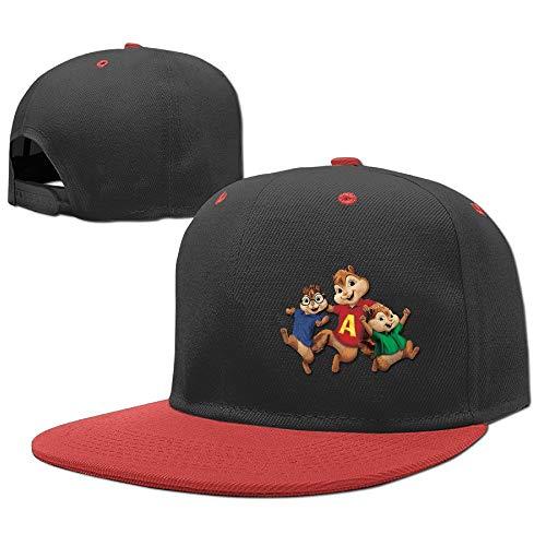 Alvin and The Chipmunks Cartoons Children Rock Punk Caps Hip Hop Vintage Snapback,Hüte, Mützen & Caps