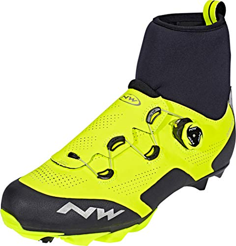 Northwave Raptor GTX Shoes Men Yellow Fluo/Black Shoe Size EU 41 2019 Bike Shoes