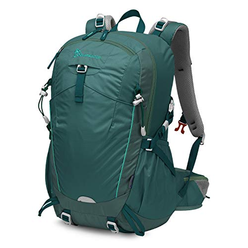 MOUNTAINTOP 28L/35L Unisex Hiking Backpack Smoky Blue