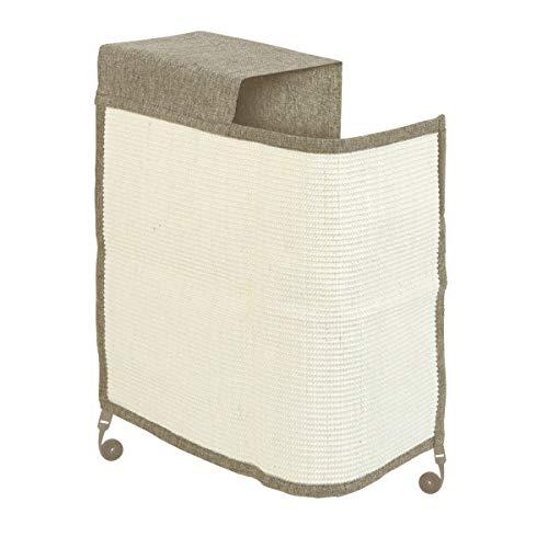 Navaris Rascador para Gatos - Protector para Esquina de sofá o sillón - Afilador de uñas de sisal para Mascotas - para el Lado Derecho en marrón