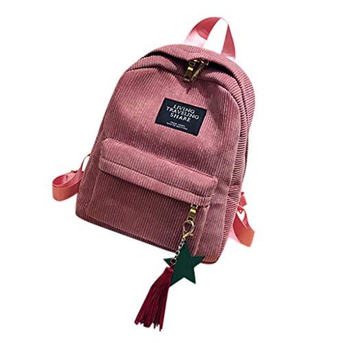 manadlian Kleiner Rucksack, Damen Rucksack Leder Rucksackhandtaschen Frau Mädchen Schultasche Reisen Klein Rucksack Daypack Rucksack Schulrucksäcke Schulranzen (Rosa)