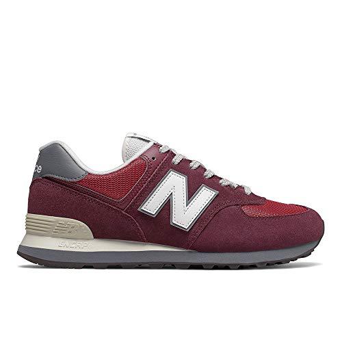 Tênis New balance 574 Casual Masculino Vermelho - 39